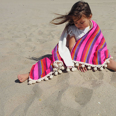 Baby/Kid Pom Pom beach towel