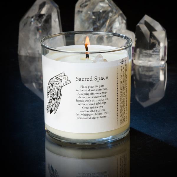 Magic Fairy Candles - Sacred Space 8oz Candles