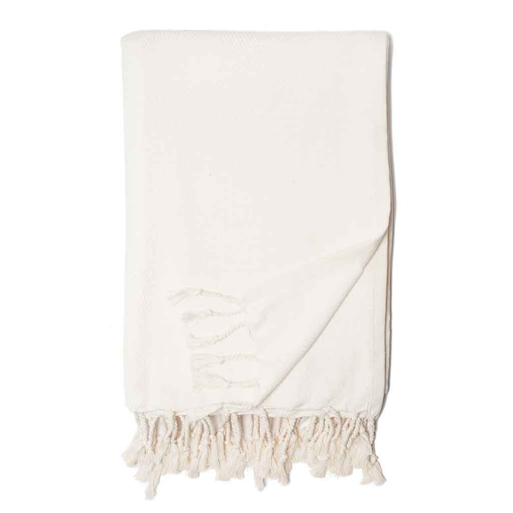 Zestt - Organic Cotton Herringbone Throw