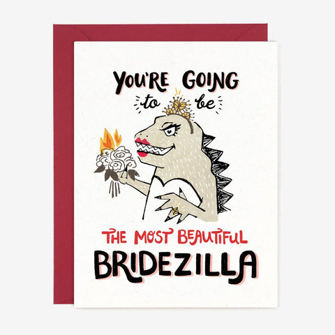Paper Pony Co. - Beautiful Bridezilla Card