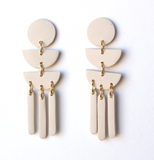 Moon Child Dangles - Cream