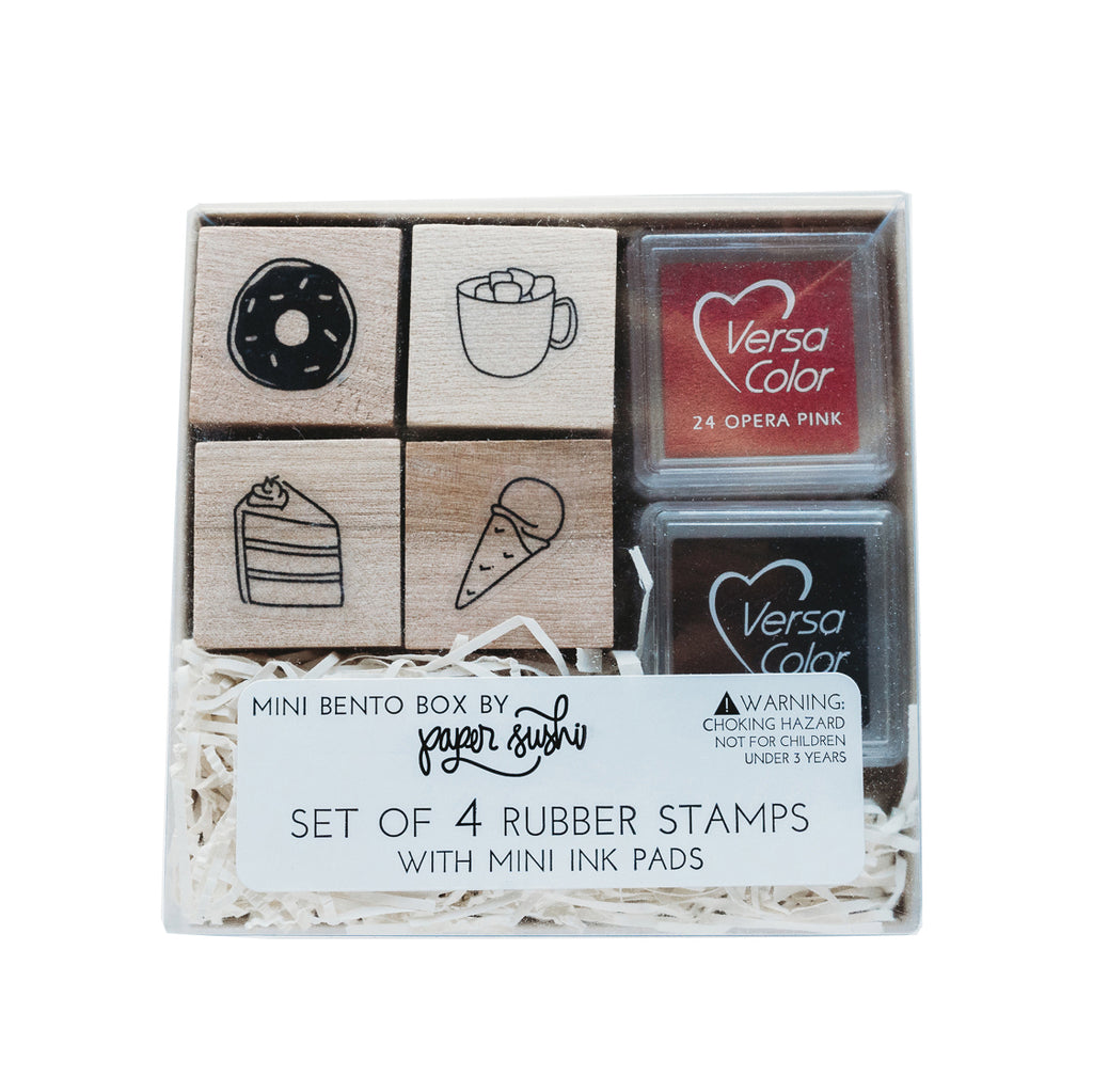 Paper Sushi - Dessert Mini Stamp Set