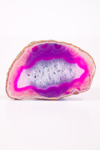 Pink Agate Phone Holder