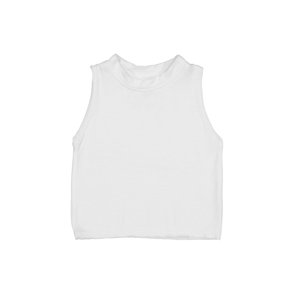 Billie Blooms - Billie Muscle Tee (White)