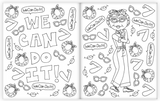 Little Feminist Icons Coloring Book