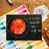 Jess Weymouth - If You're Reading This Card
