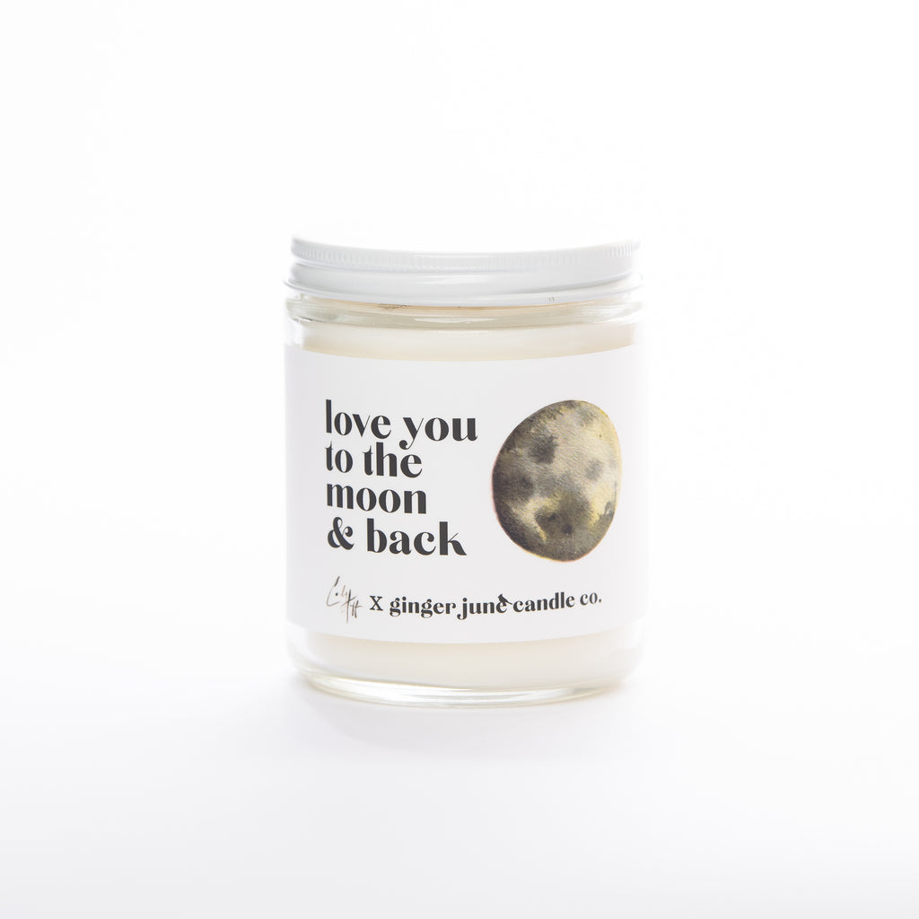 Ginger June Candle Co. - Love You To The Moon & Back • 9 OZ SOY CANDLE