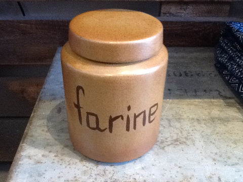 Farine Ceramic French Lid Canister