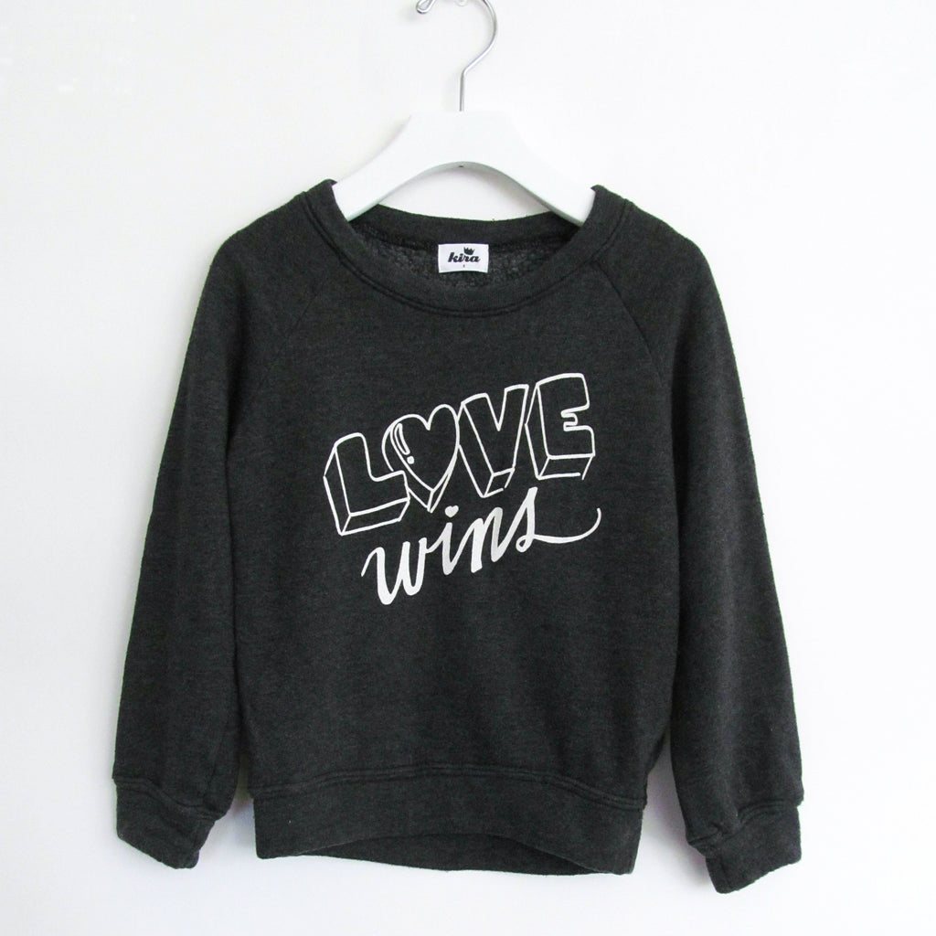 Love Wins Kids Sweater