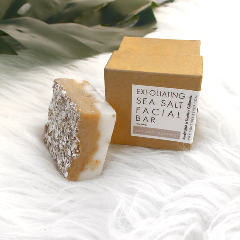 Sea Salt Oatmeal Facial Soap