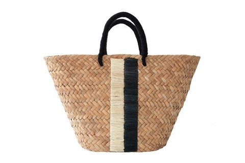 Taylor Black/Natural Stripe Bag