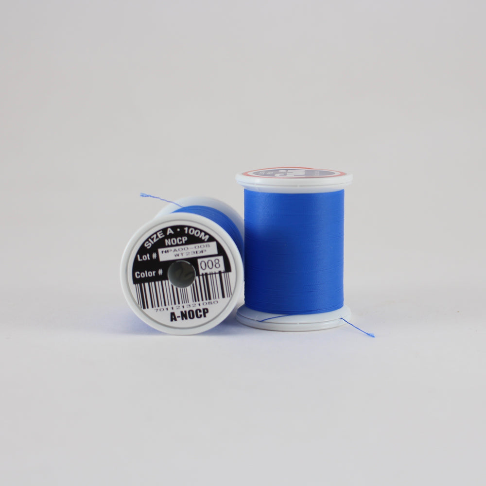 Fuji Ultra Poly NOCP rod wrapping thread in Dark Blue #008 (Size A 100m spool)
