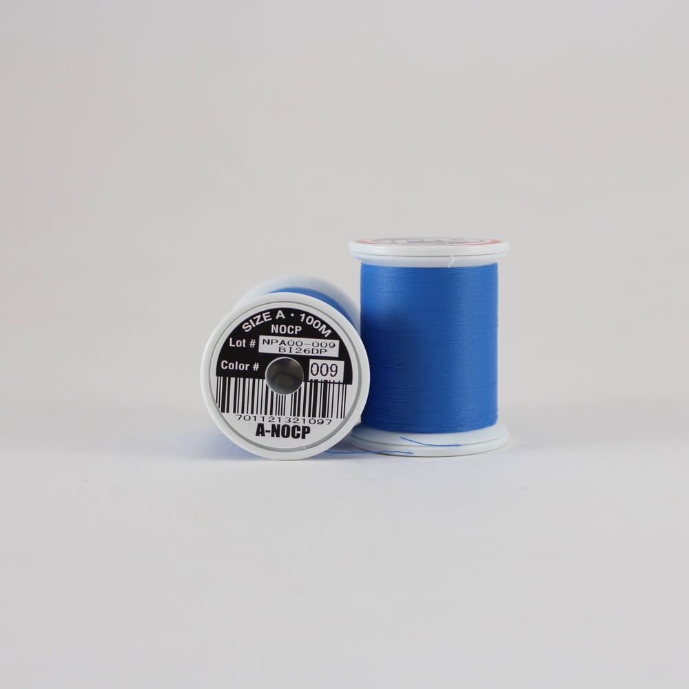 Fuji Ultra Poly NOCP rod wrapping thread in Royal Blue #009 (Size A 100m spool)