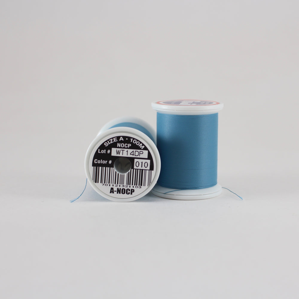 Fuji Ultra Poly NOCP rod wrapping thread in Blue Dun #010 (Size A 100m spool)