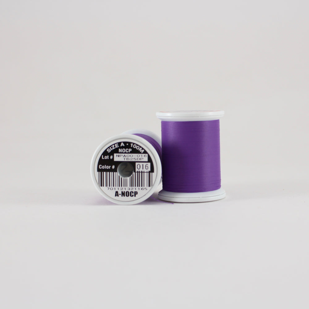 Fuji Ultra Poly NOCP rod wrapping thread in Purple #016 (Size A 100m spool)