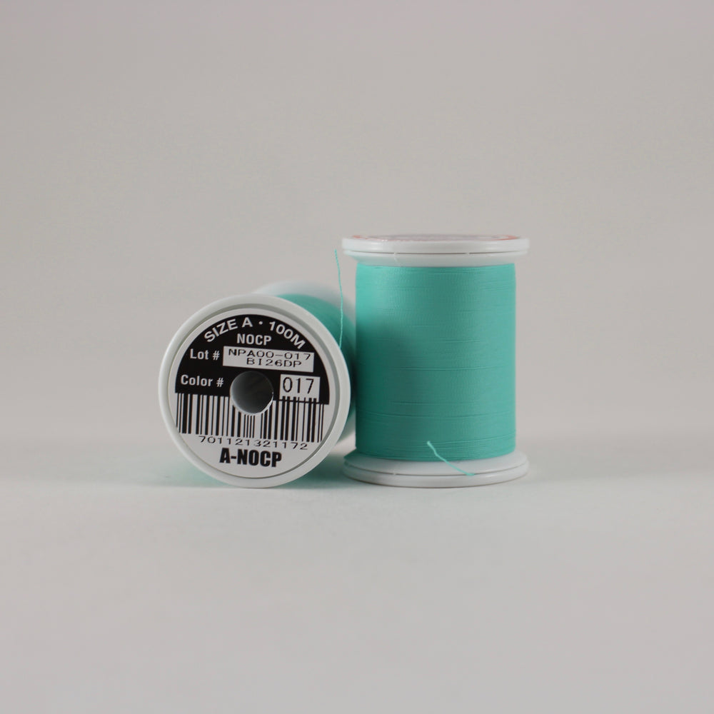Fuji Ultra Poly NOCP rod wrapping thread in Teal #017 (Size A 100m spool)