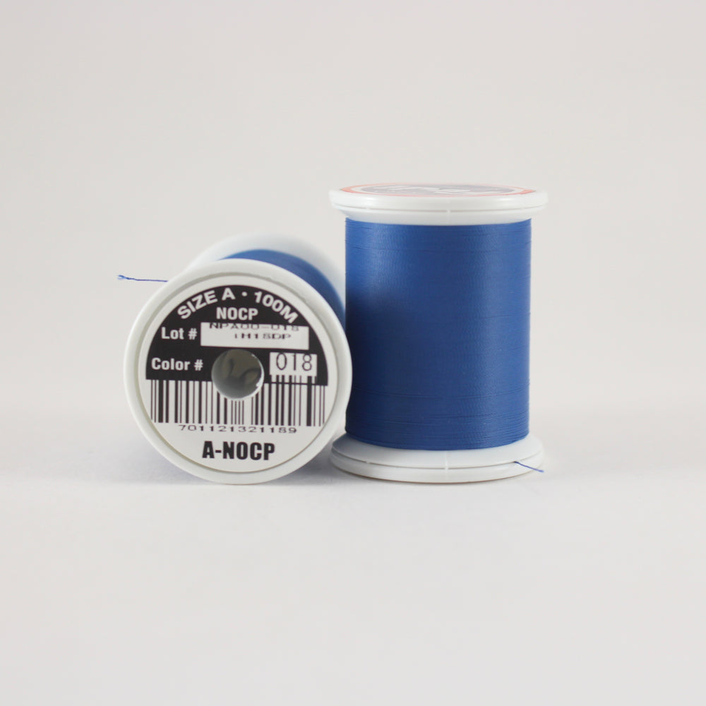 Fuji Ultra Poly NOCP rod wrapping thread in Navy #018 (Size A 100m spool)