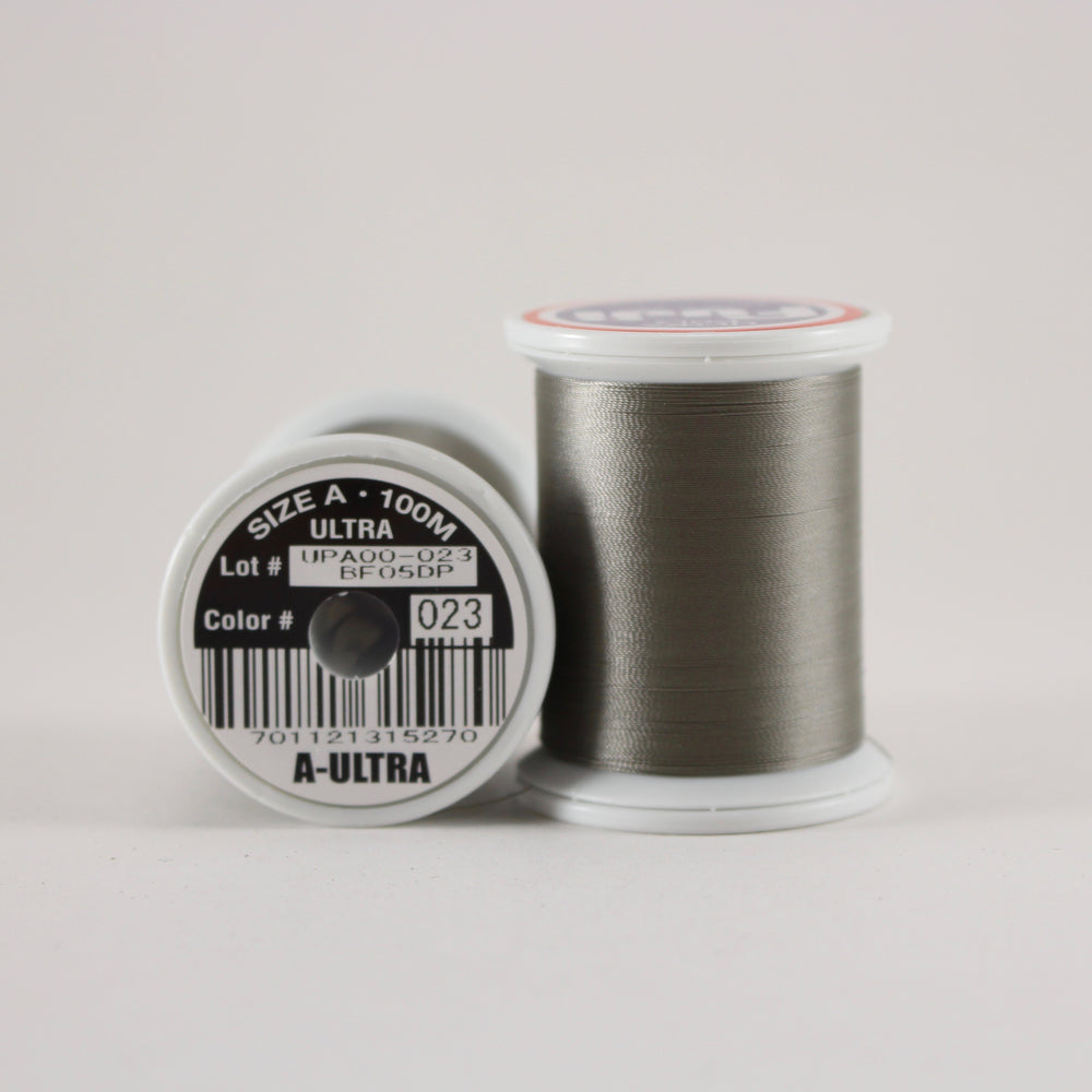 Fuji Ultra Poly rod wrapping thread in BC Grey #023 (Size A 100m spool)