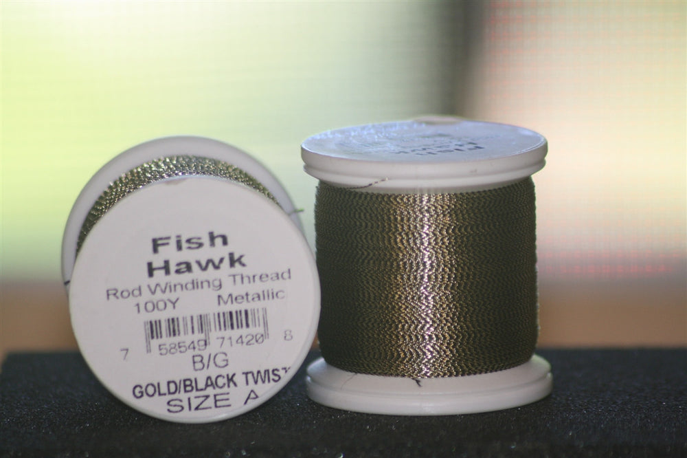 Gold / Black twist (Metallic) FishHawk size A