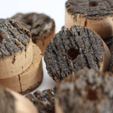 Flor grade cork bark rings