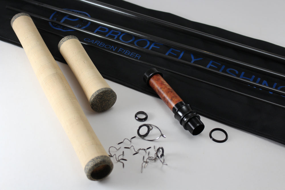 10'' 7wt. (four piece) carbon fiber switch rod kit