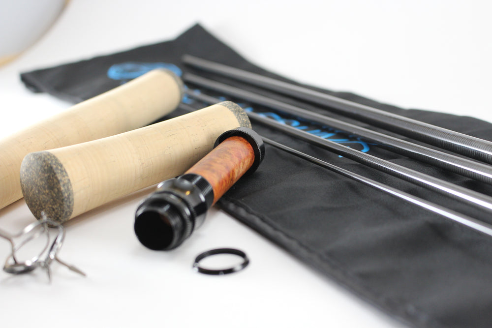 11' 2/3wt. (four piece) carbon fiber trout spey rod kit