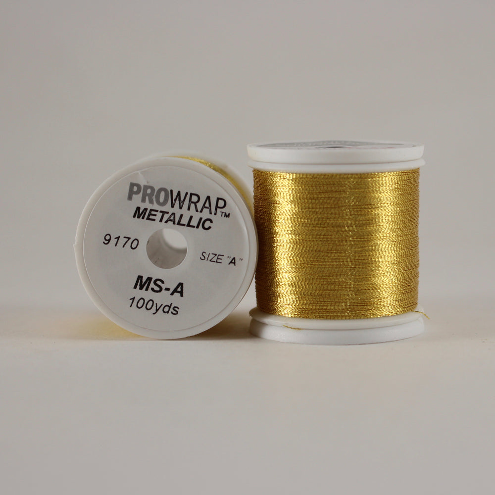 ProWrap metallic thread Calcutta 9170 (size A 100yd. spool)