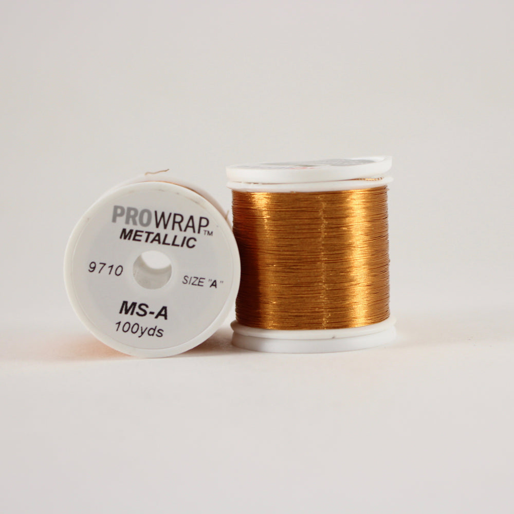 ProWrap metallic thread Copper #9710 (size A 100yd. spool)
