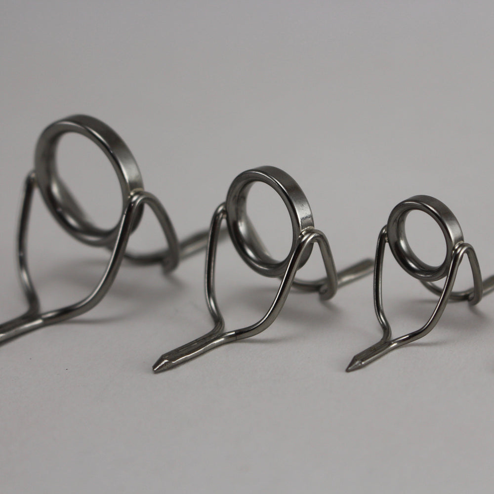 Chrome low profile wire stripping guides. (10mm,12mm, 16mm, 20mm)