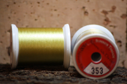 Kimono silk thread #353 Wasabi - Proof Fly Fishing