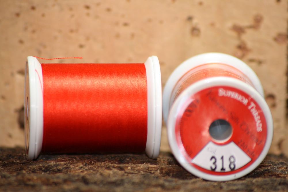 Kimono silk thread #318 Geisha - Proof Fly Fishing