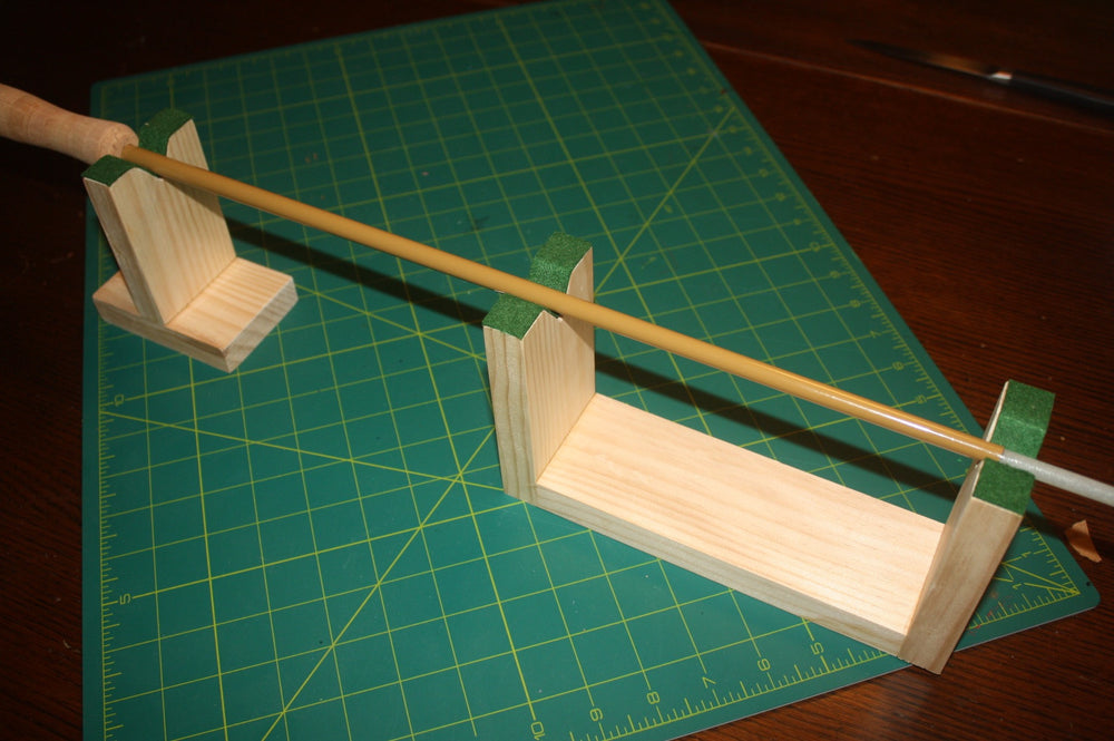 """Sig"" rod wrapping jig - Proof Fly Fishing"