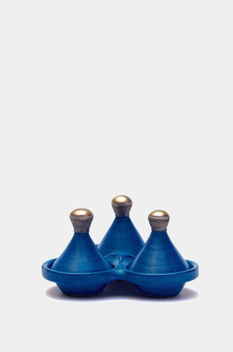 Triple Tagine Spice Holders