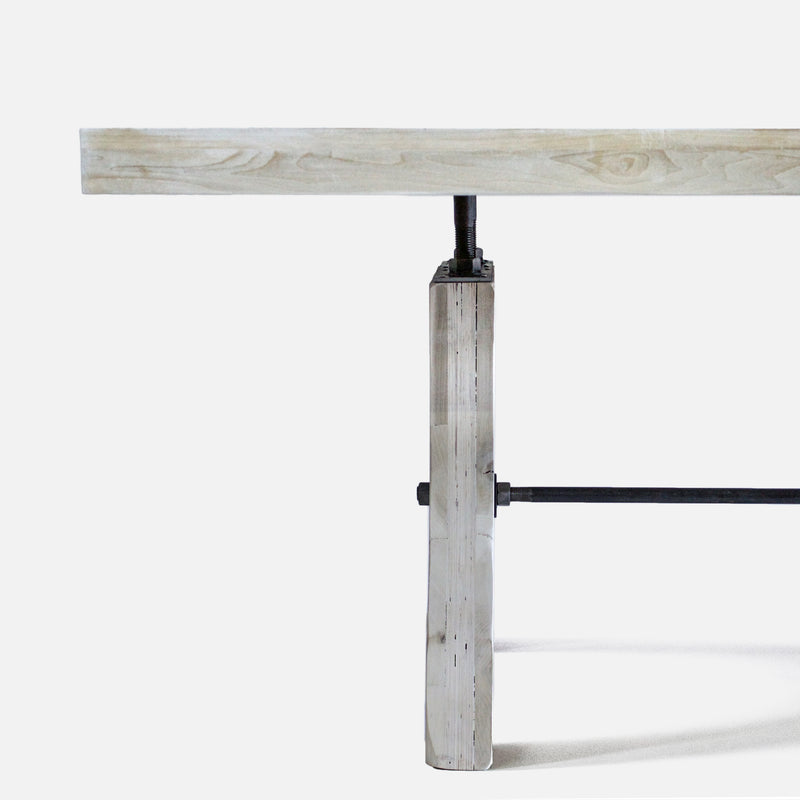 Dining Table No. 58. White Wash