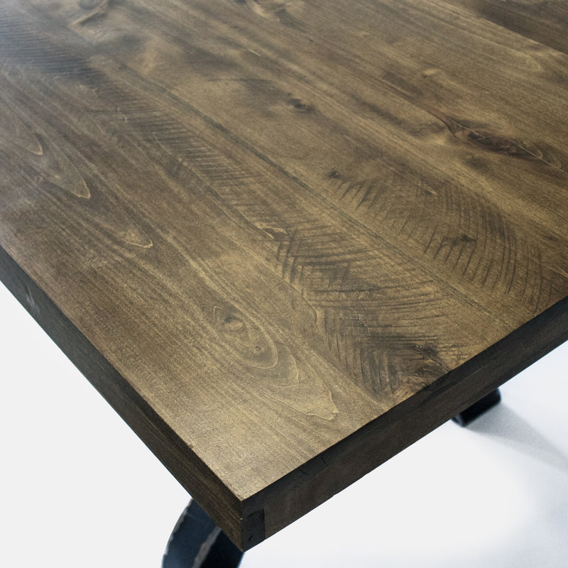No. 58 Dining Table- w/ Steel Legs