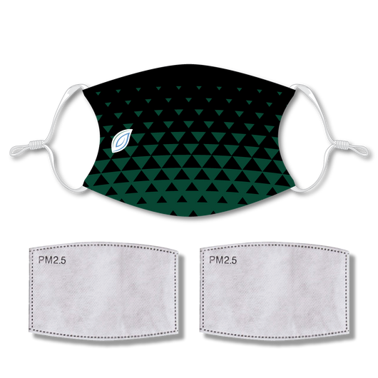 Sublimated FaceTRIFECTA with 2 filters & strap adjuster
