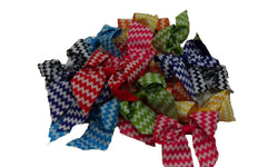 3pcs. Mix Chevron Bow Hair Clips