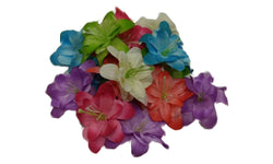 3pcs. Mix Hawaiin Lily Hair Clips