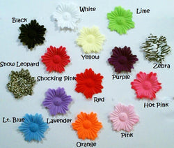 50pcs. Mix Funky Flower Petals-2.5