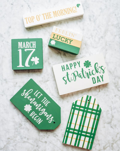 Celebrate St. Patrick's Day With DIY Home Decor!