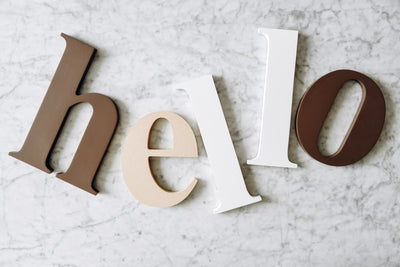 Get Creative With Wood Letters!