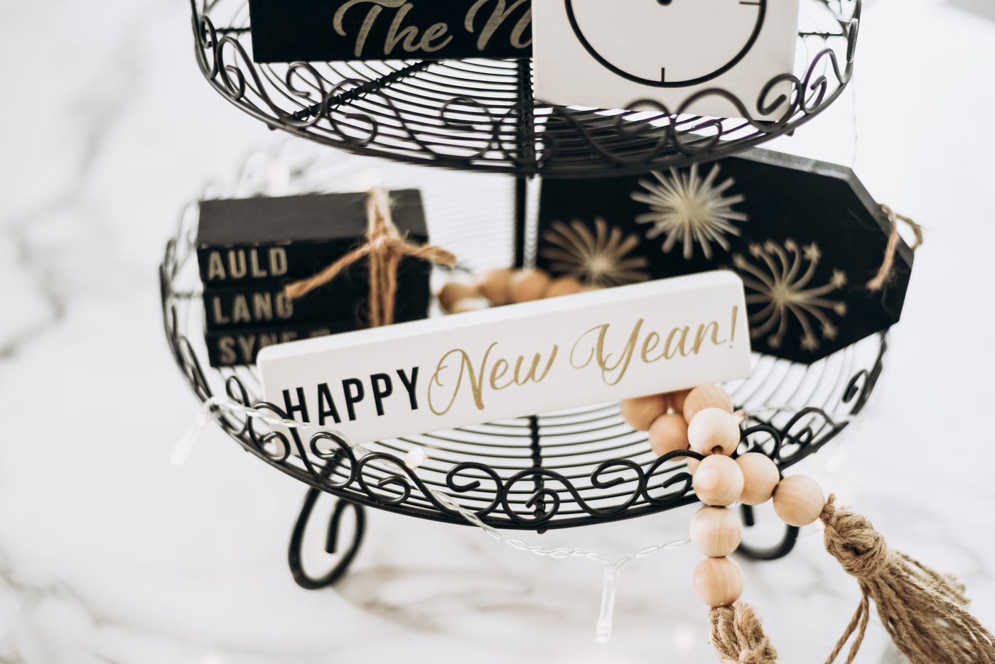 Ring In The New Year With A New Tiered Tray DIY Kit!
