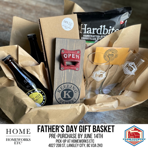 Farm Country Brewing Gift Basket