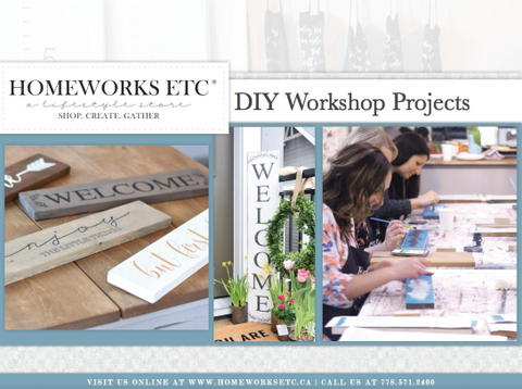 DIY Workshop Private Party Workshops