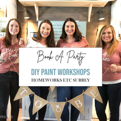 Book a Sign Painting Party, Surrey BC