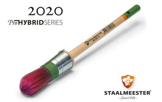 Staalmeester #20 Round Sash Brush - Homeworks Etc ®