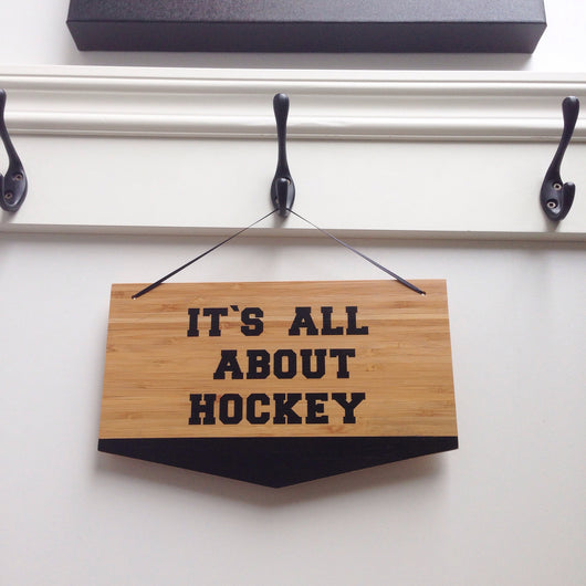 It's All About Hockey - Homeworks Etc ®