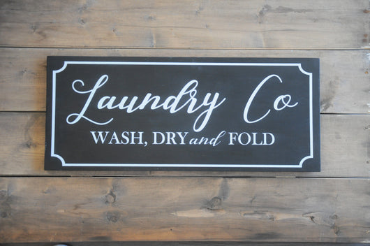 DIY Workshop - Laundry Room Sign | DROP IN - Homeworks Etc ®