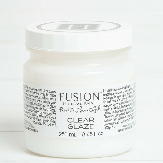 Fusion Mineral Paint Clear Glaze - Homeworks Etc ®
