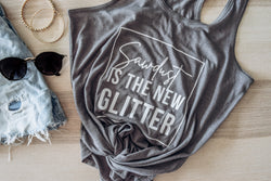 Sawdust is the New Glitter Women's Tank Top - Homeworks Etc ®